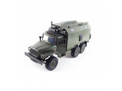URAL 6x6 proporcionální vojenský truck 1:16 RTR  + Voucher na další nákup