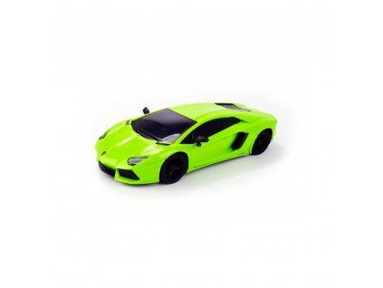Siva Lamborghini Aventador LP700-4, licencovaný model 1:24, LED, RTR  + Voucher na další nákup