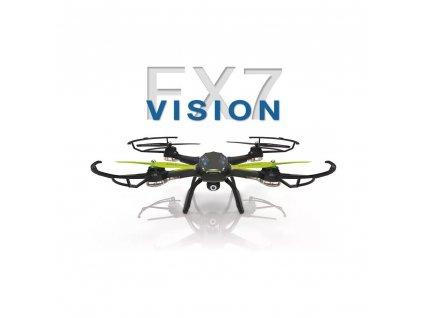 FLEXCOPTERS FX7 VISION, Wifi FPV, kamera, vypínatelný barometr, kompas, AKCE