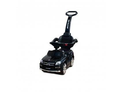 Siva Mercedes Benz GL63 AMG - Slide Car 4v1, černá  + Voucher na další nákup