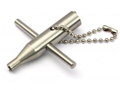 Nerezový klíč na ventilky plynových zbraní