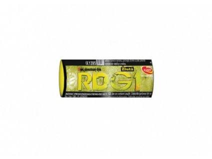 Žlutá dýmovnice (40 sekund) 1ks
