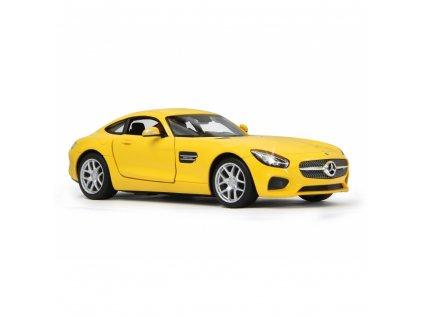 Mercedes Benz - Daimler - AMG GT, žlutá, silniční vůz 1:14