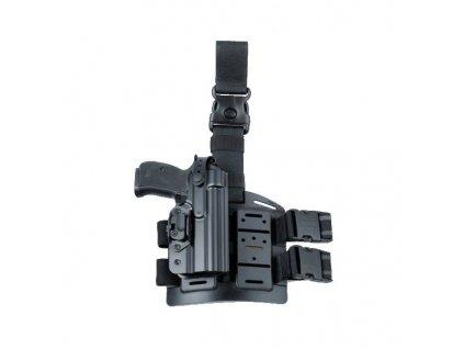 Pouzdro na pistol PRAVÉ 740 pro CZ 75 se stehenním závěsem 975