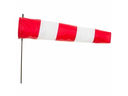 Větrný pytel 60 cm sada, červenobílý