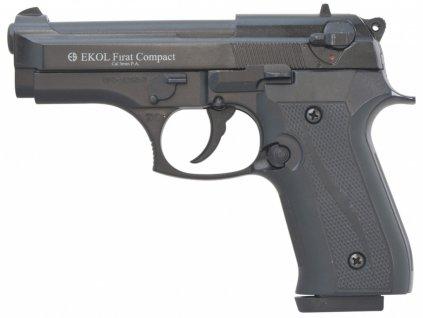 Plynová pistole Ekol Firat Compact černý cal.9mm