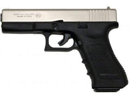 Plynová pistole Bruni Gap nikl cal.9mm