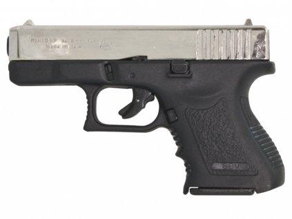 Plynová pistole Bruni MiniGap nikl cal.9mm