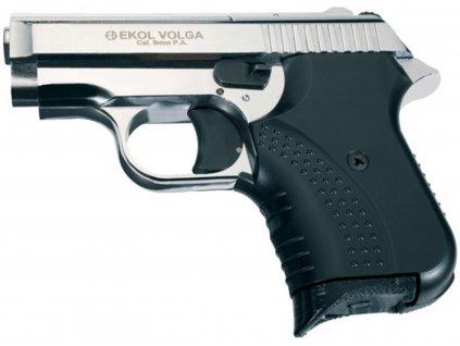 Plynová pistole Ekol Agent chrom cal.9mm