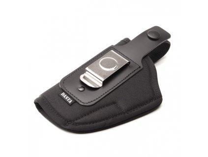 Pouzdro opaskové boční s ocel.sponou pro Beretta 92, GLOCK17, SIG P-226