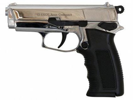 Plynová pistole Ekol Aras Compact chrom cal.9mm