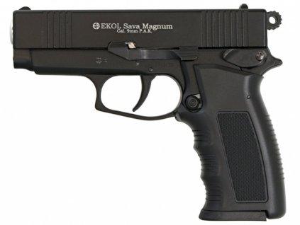 Plynová pistole Ekol Sava Magnum černá cal.9mm