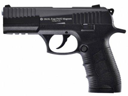 Plynová pistole Ekol Firat Magnum PA92 černá cal.9mm
