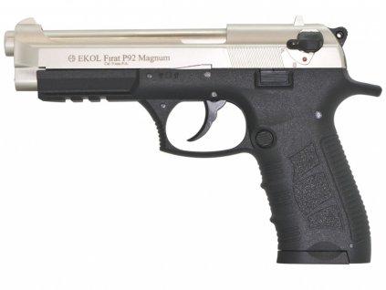 Plynová pistole Ekol Firat Magnum P92 satén cal.9mm