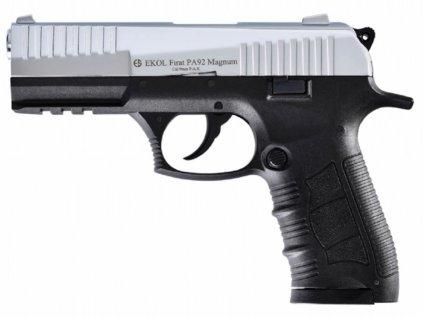 Plynová pistole Ekol Firat Magnum PA92 chrom cal.9mm
