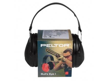 Sluchátka PELTOR H515FB Bull's Eye™ I ČERNÁ