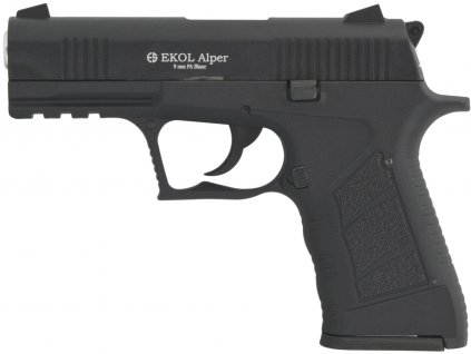Plynová pistole Ekol Alper černá cal.9mm
