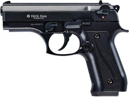 Plynová pistole Ekol Dicle černá cal.9mm