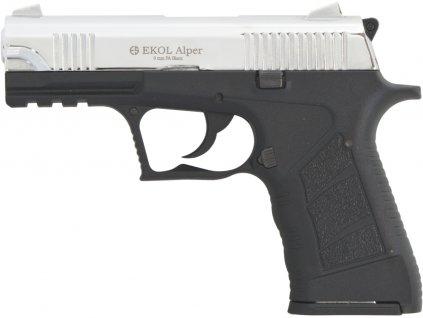 Plynová pistole Ekol Alper chrom cal.9mm