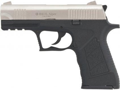 Plynová pistole Ekol Alper satén cal.9mm