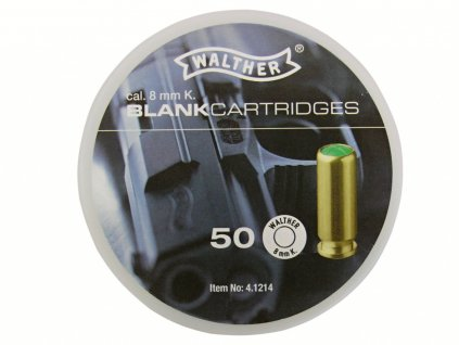 Startovací náboje Walther 8mm pistole 50ks