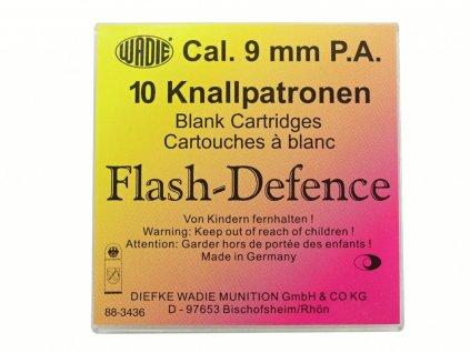 Plynové náboje Flash Defence 9mm pistole