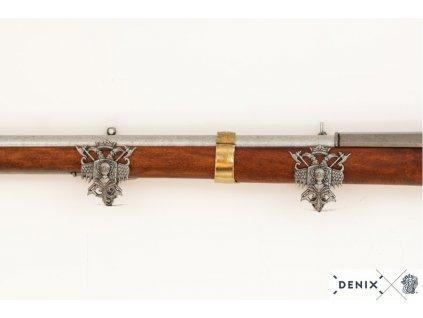 denix land pattern musket brown bess england 1722