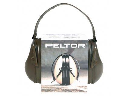 Sluchátka proti hluku PELTOR Bull´s Eye I ZELENÁ