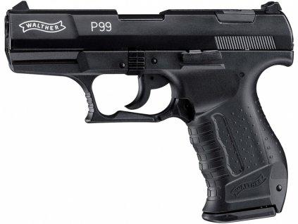 Plynová pistole Umarex Walther P99 černá cal.9mm