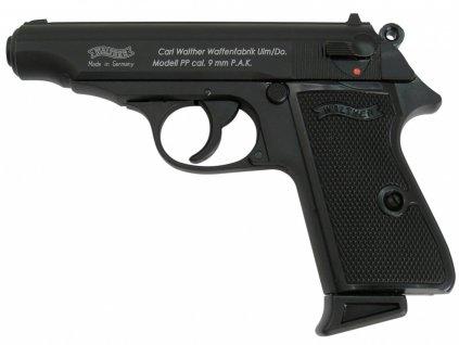 Plynová pistole Umarex Walther PP černá cal.9mm