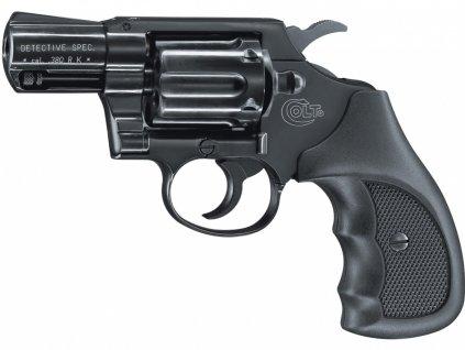 Plynový revolver Colt Detective Special černý plast cal.9mm