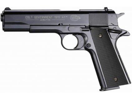 Plynová pistole Umarex Colt Government 1911 A1 černá cal.9mm