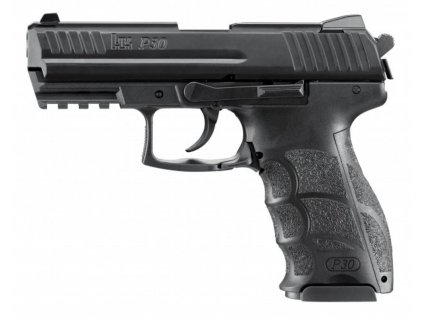 Plynová pistole Umarex Heckler&Koch P30 černá cal.9mm