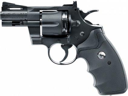 """Vzduchový revolver Colt Python 2,5"""" černý DIABOLO/BB"""