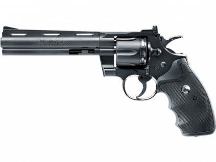 """Vzduchový revolver Umarex Colt Python 6"""" černý Diabolo/BB 4,5mm"""