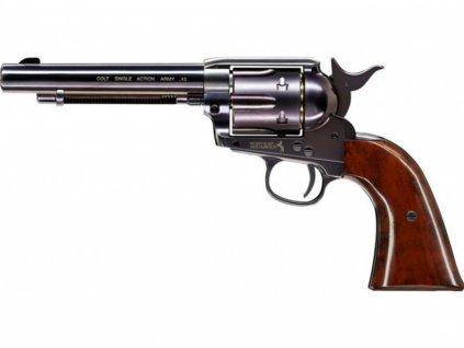 Vzduchový revolver Umarex Colt Single Action Army SAA .45 blued 4,5mm