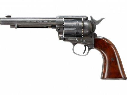 Vzduchový revolver Umarex Colt Single Action Army SAA .45 Antique 4,5mm