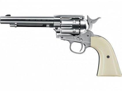 Vzduchový revolver Colt Single Action Army SAA .45 nikl