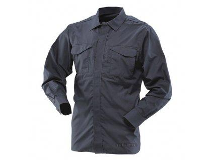 Košile 24-7 UNIFORM dlouhý rukáv rip-stop MODRÁ
