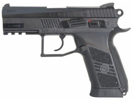 Pistole vzduchová ASG CZ-75 P-07 Duty - BB steel 4,5mm