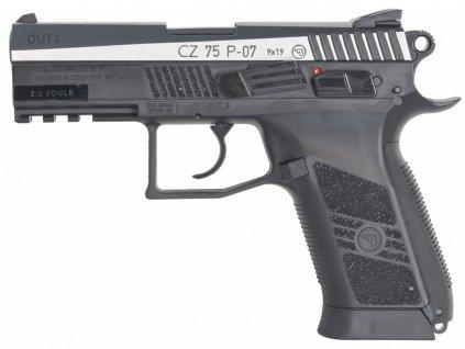 Vzduchová pistole ASG CZ-75 P-07 Duty Bicolor Blow Back 4,5mm