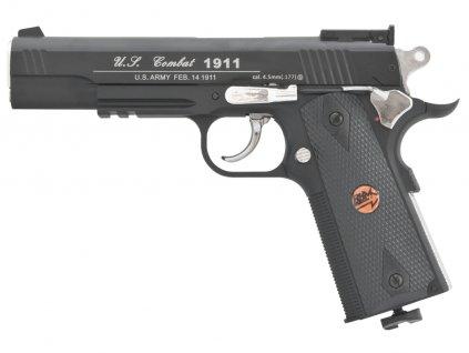 Vzduchová pistole Bruni US Combat 1911 P černá