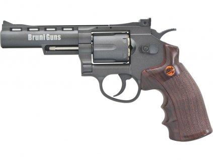 Vzduchový revolver Bruni Super Sport 701 černý 4,5mm
