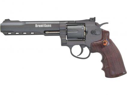 Vzduchový revolver Bruni Super Sport 702 černý 4,5mm