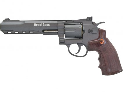 Vzduchový revolver Bruni Super Sport 702 černý