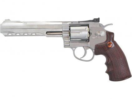 Vzduchový revolver Bruni Super Sport 702 chrom 4,5mm
