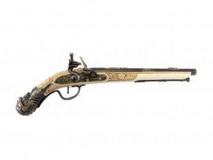 Křesadlová pistole - Německo 17.století