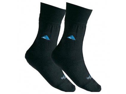 Ponožky US SEALSKINZ voděodolné ČERNÉ