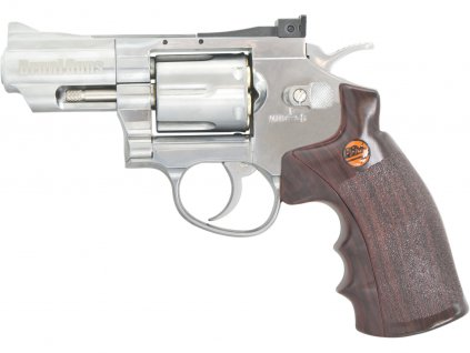 Vzduchový revolver Bruni Super Sport 708 chrom