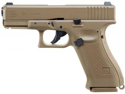 Vzduchová pistole Glock 19X BlowBack